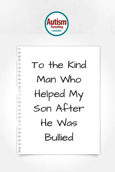 Man helped a bullied ASD child