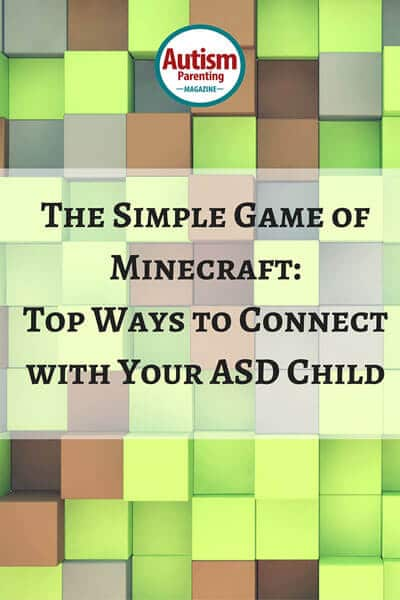 Better connection with ASD child playing minecraft game
