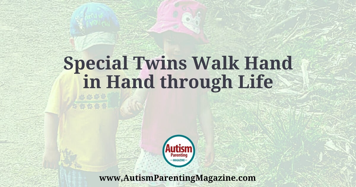 Special Twins Go Hand-in-Hand Through Life