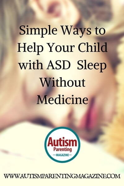 Ways to Help Your Child with Autism Sleep Without Medicine
