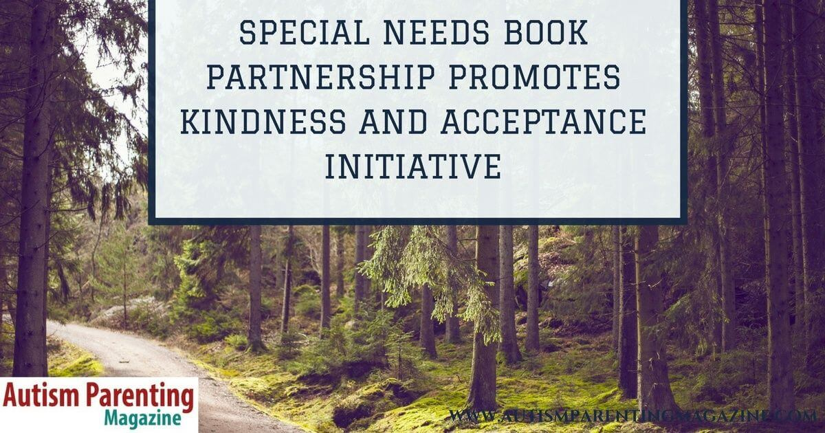Special Needs Book Partnership Promotes Kindness and Acceptance Initiative