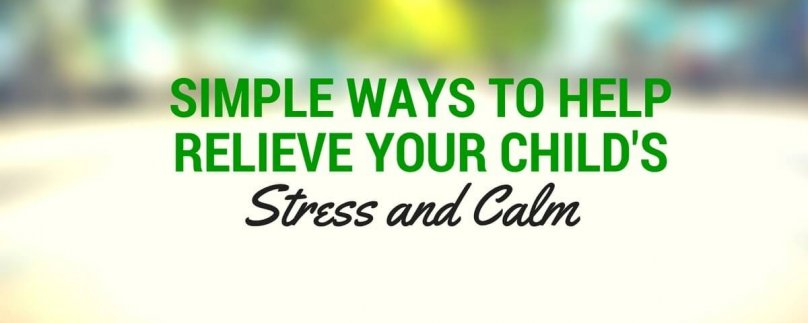 Simple Ways to Help Relieve Your Child's Stress: Calming Cookie Dough