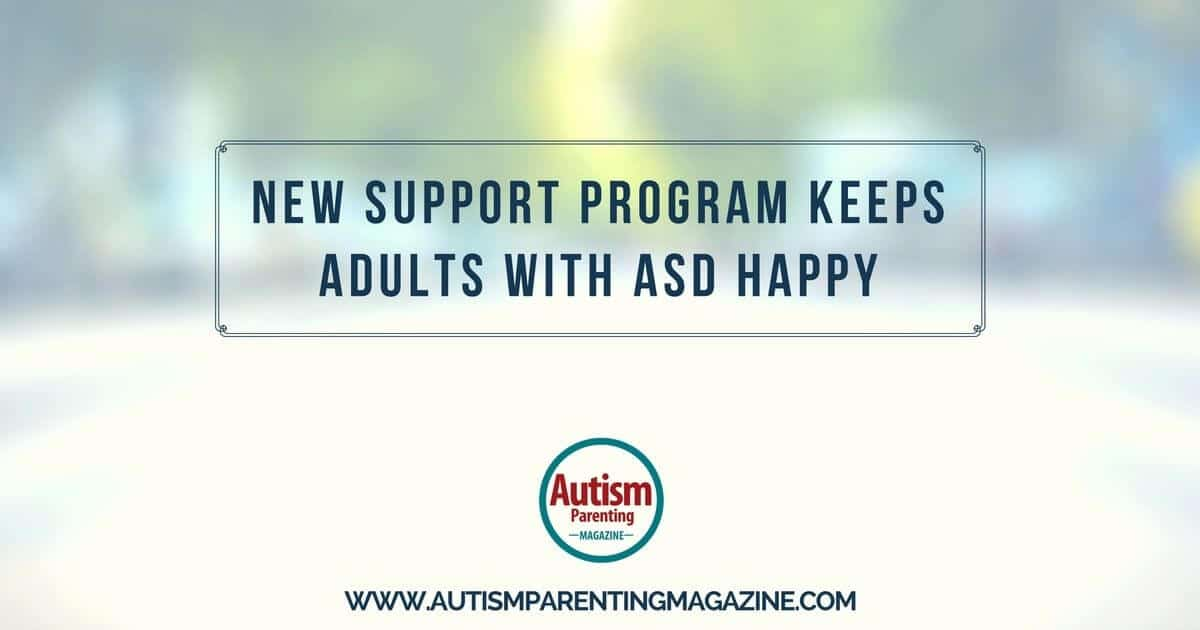 New Support Programs for Adults with Autism