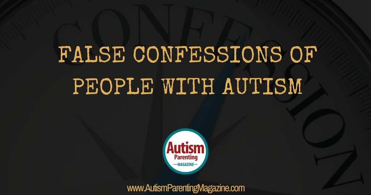 False Confessions of People with ASD