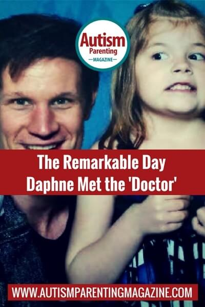 The Remarkable Day Daphne Met the 'Doctor' https://www.autismparentingmagazine.com/day-daphne-met-the-doctor