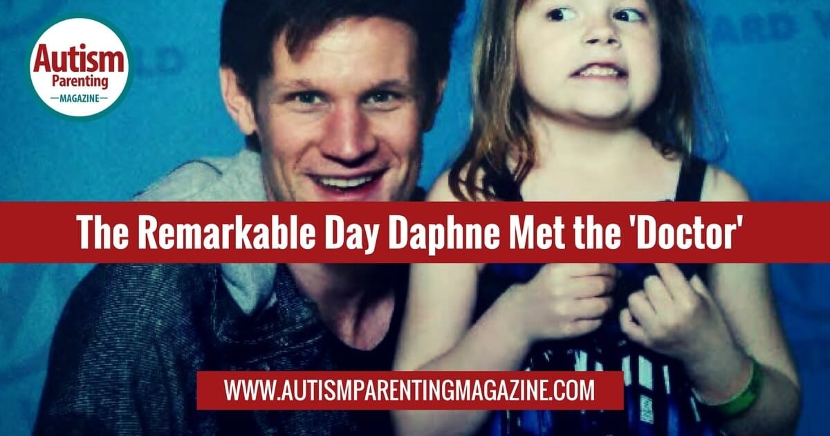 The Remarkable Day Daphne Met the 'Doctor' https://www.autismparentingmagazine.com/day-daphne-met-the-doctor