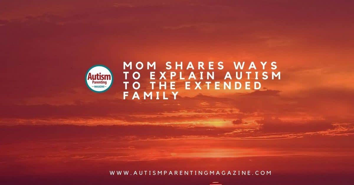 Mom Shares Ways to Explain Aspergers https://www.autismparentingmagazine.com/ways-to-explain-autism-diagnosis