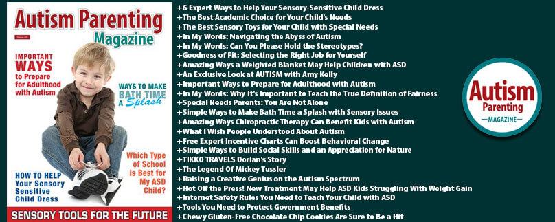 Autism Parenting Magazine Issue 60 - Sensory Tools For The Future https://www.autismparentingmagazine.com/issue-60-sensory-tools-for-the-future