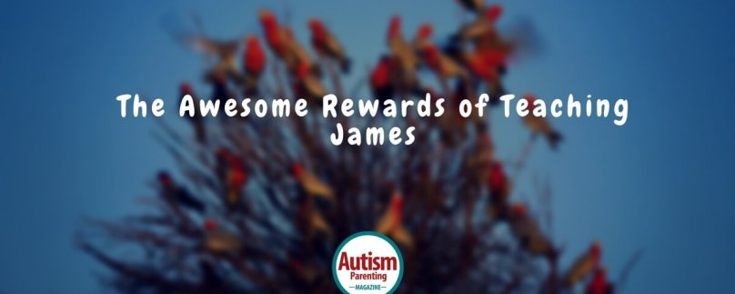 The Awesome Rewards of Teaching James