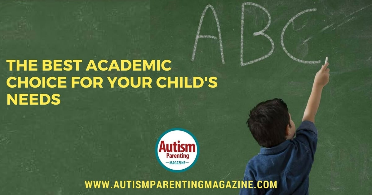 A Special Guide to Educational Options for your Child with Autism