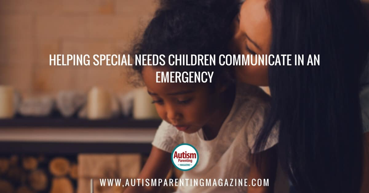 Autism children in emergency
