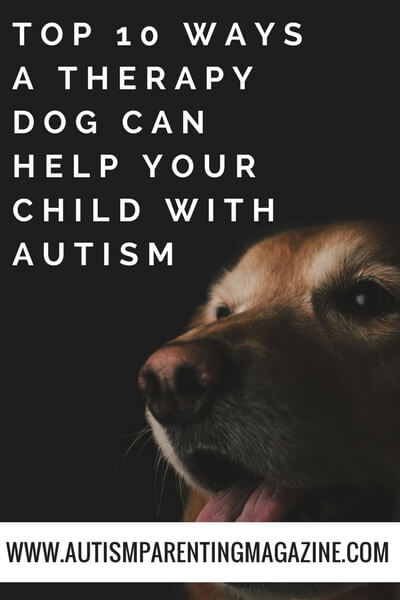 Top 10 Ways a Therapy Dog Can Help Your Child with Autism https://www.autismparentingmagazine.com/therapy-dog-can-help/