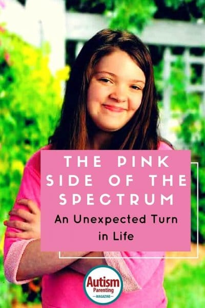 The Pink Side of the Spectrum - An Unexpected Turn in Life http://www.autismparentingmagazine.com/autism-teen-behavioral-changes/