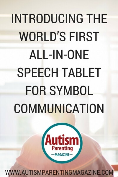 Introducing the World's First All-in-One Speech Tablet for Symbol Communication https://www.autismparentingmagazine.com/all-in-one-speech-tablet-symbol-communication