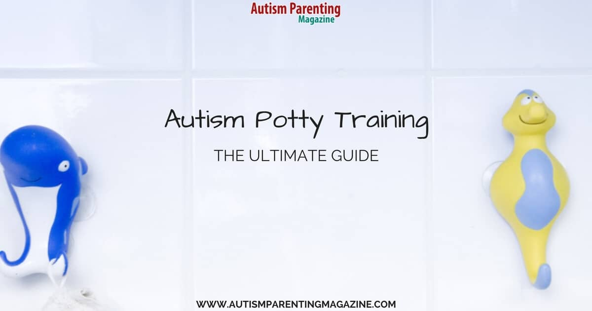 Autism Potty Training - The Ultimate Guide https://www.autismparentingmagazine.com/autism-potty-training-guide/