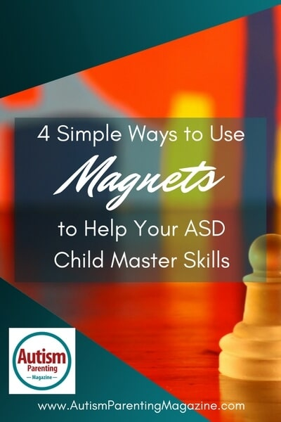 4 Simple Ways to Use Magnets to Help Your ASD Child Master Skills http://www.autismparentingmagazine.com/ways-to-use-magnets-help-asd-child-master-skills