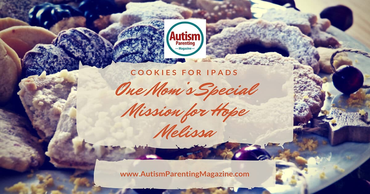 Cookies For iPads – One Mom's Special Mission for Hope https://www.autismparentingmagazine.com/cookies-for-ipads/