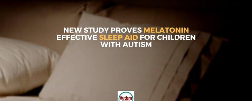 New Study Proves Melatonin Effective Sleep Aid for Children with Autism