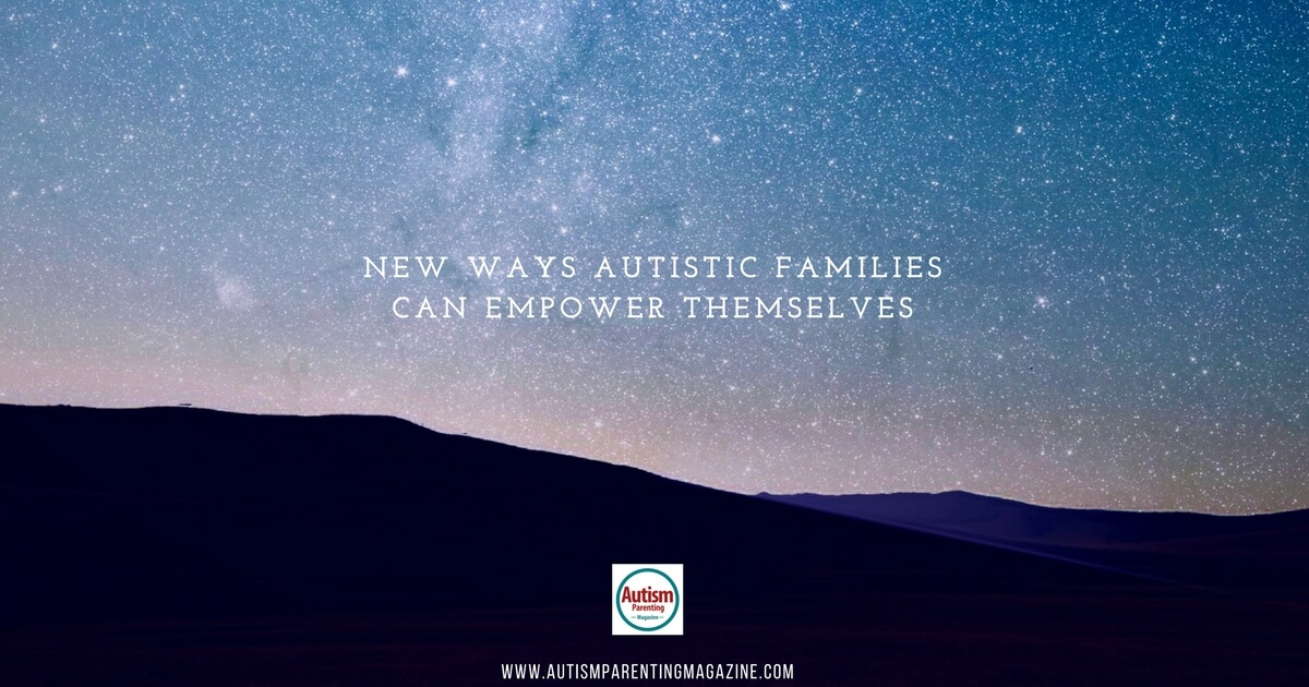 Autistic families can empower themselves