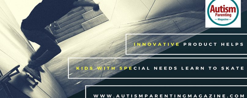 Innovative Product Helps Kids with Special Needs Learn to Skate