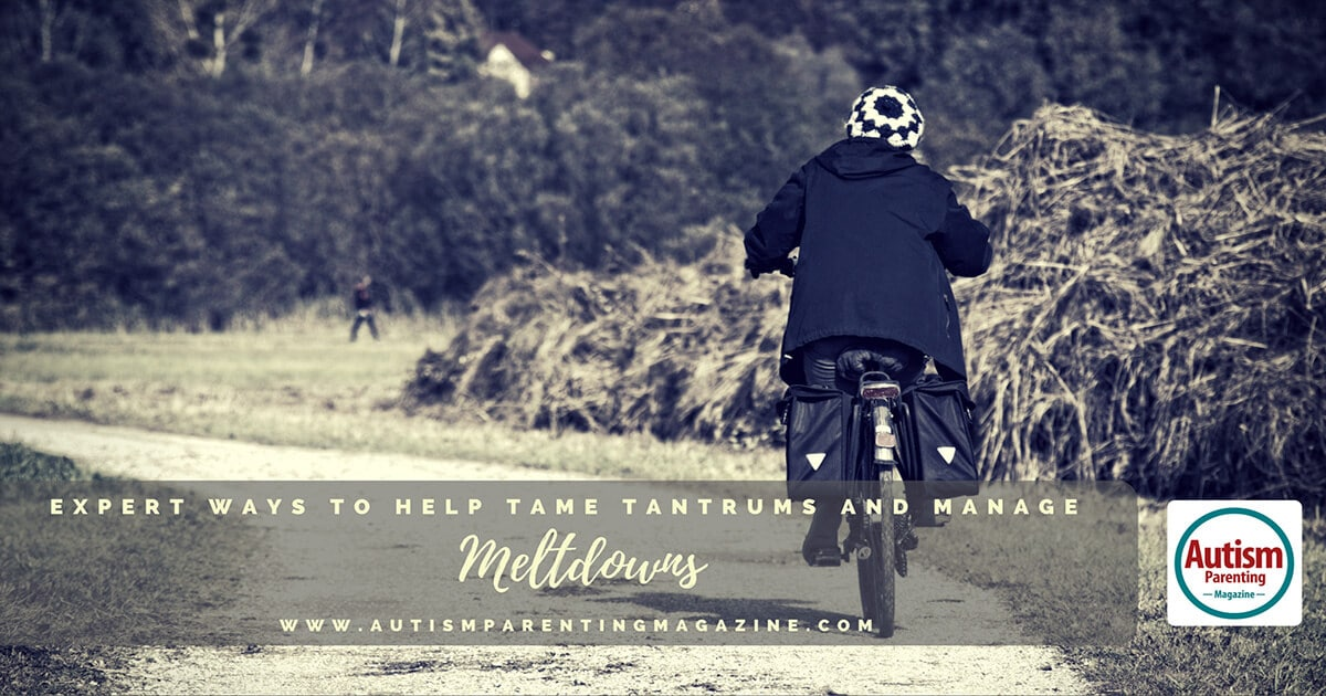 Expert Ways to Help Tame Tantrums and Manage Meltdowns https://www.autismparentingmagazine.com/tame-tantrums-manage-meltdowns