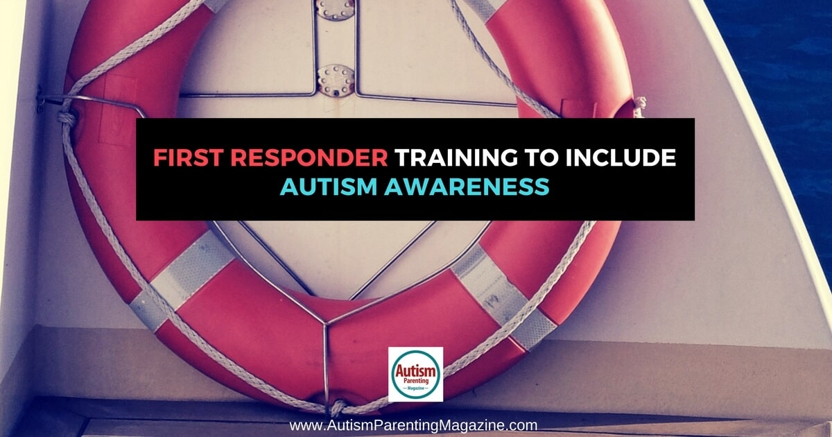 First responder training include autism awareness