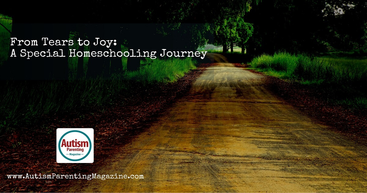 From Tears to Joy: A Special Homeschooling Journey https://www.autismparentingmagazine.com/special-homeschooling-journey/