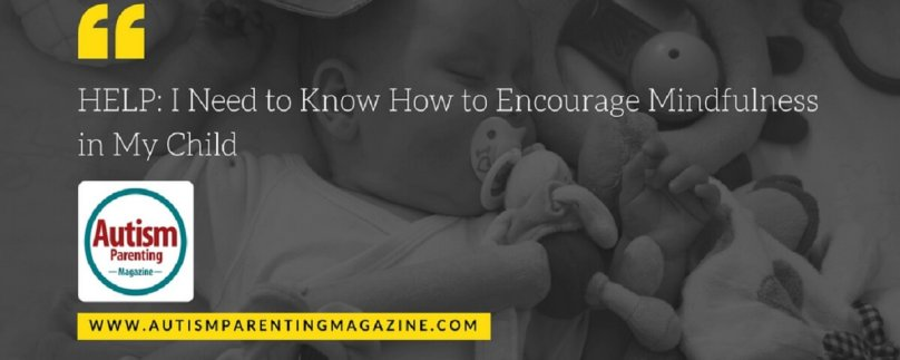HELP: I Need to Know How to Encourage Mindfulness in My Child