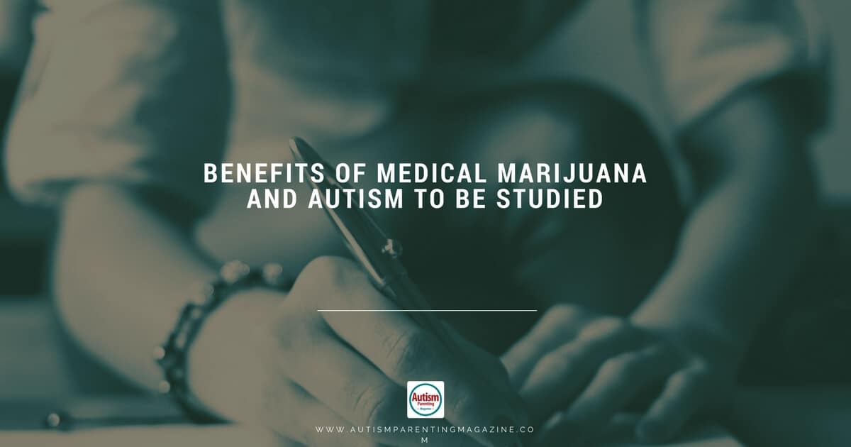 Benefits of Medical Marijuana and Autism to Be Studied https://www.autismparentingmagazine.com/benefits-of-medical-marijuana-and-autism-to-be-studied