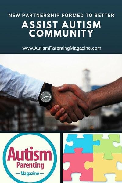 New Partnership Formed to Better Assist Autism Community https://www.autismparentingmagazine.com/new-partnership-formed-to-better-assist-autism-community