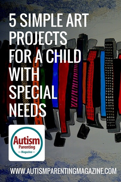 5 Simple Art Projects For a Child with Special Needs http://www.autismparentingmagazine.com/art-projects-for-special-needs/