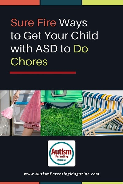 Sure Fire Ways to Get Your Child with ASD to Do Chores http://www.autismparentingmagazine.com/asd-child-do-chores/