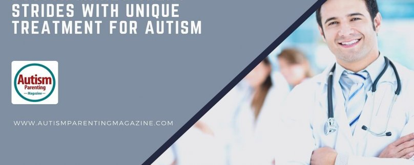 Doctor Makes Great Strides with Unique Treatment for Autism