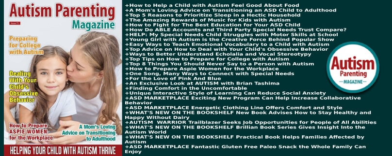 Autism Parenting Magazine Issue 75 - Helping Your Child with Autism Thrive http://www.autismparentingmagazine.com/issue-75-helping-child-with-autism-thrive