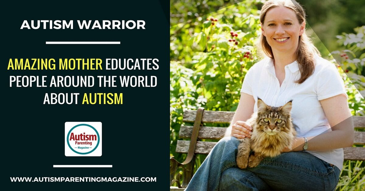 Amazing Mother Educates People Around the World About Autism http://www.autismparentingmagazine.com/mom-educates-people-about-autism/