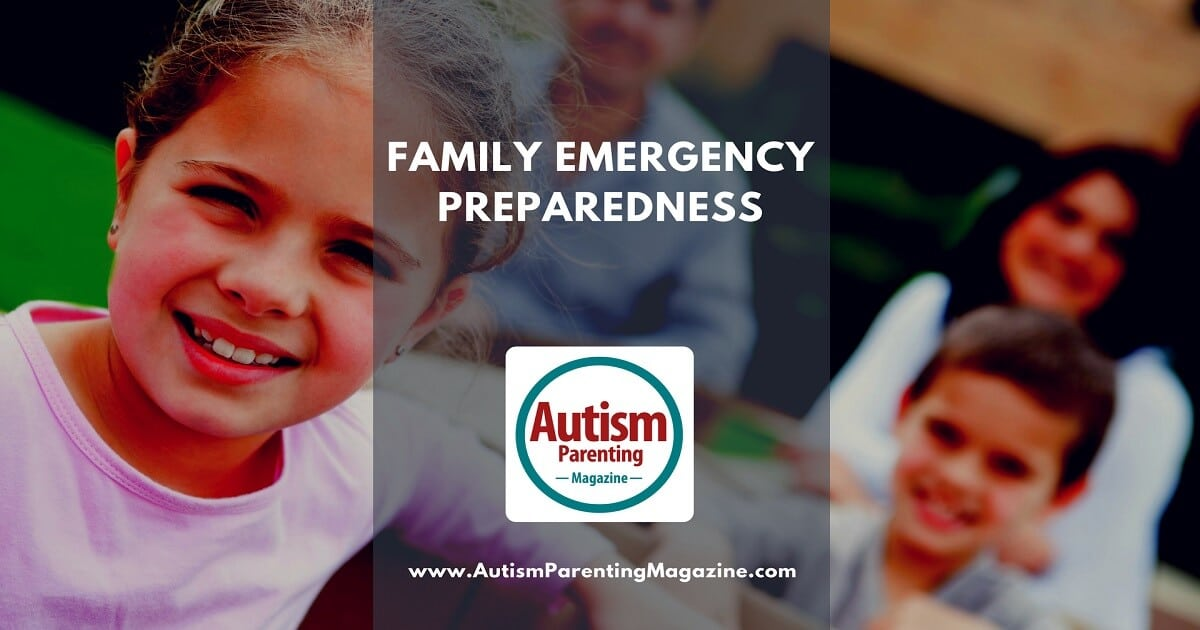 Family Emergency Preparedness with Special Needs http://www.autismparentingmagazine.com/family-emergency-preparedness-autism