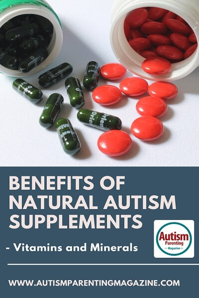 Benefits of Natural Autism Supplements - Vitamins and Minerals http://www.autismparentingmagazine.com/best-autism-supplements/