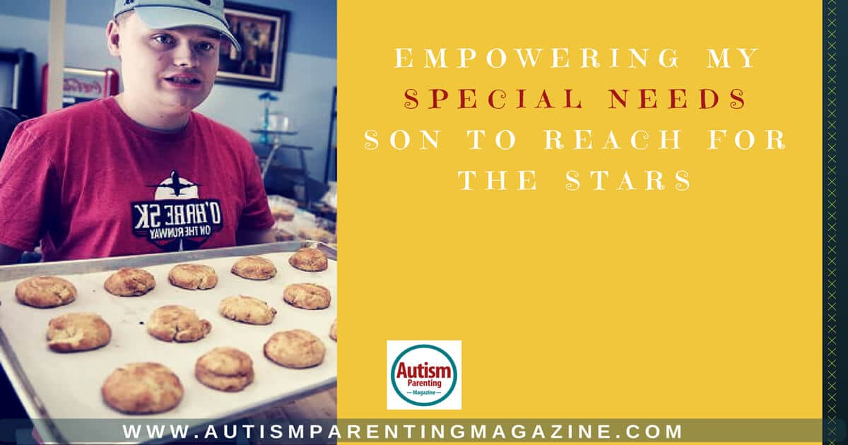 Empowering My Special Needs Son to Reach for the Stars http://www.autismparentingmagazine.com/empowering-special-son-to-success/