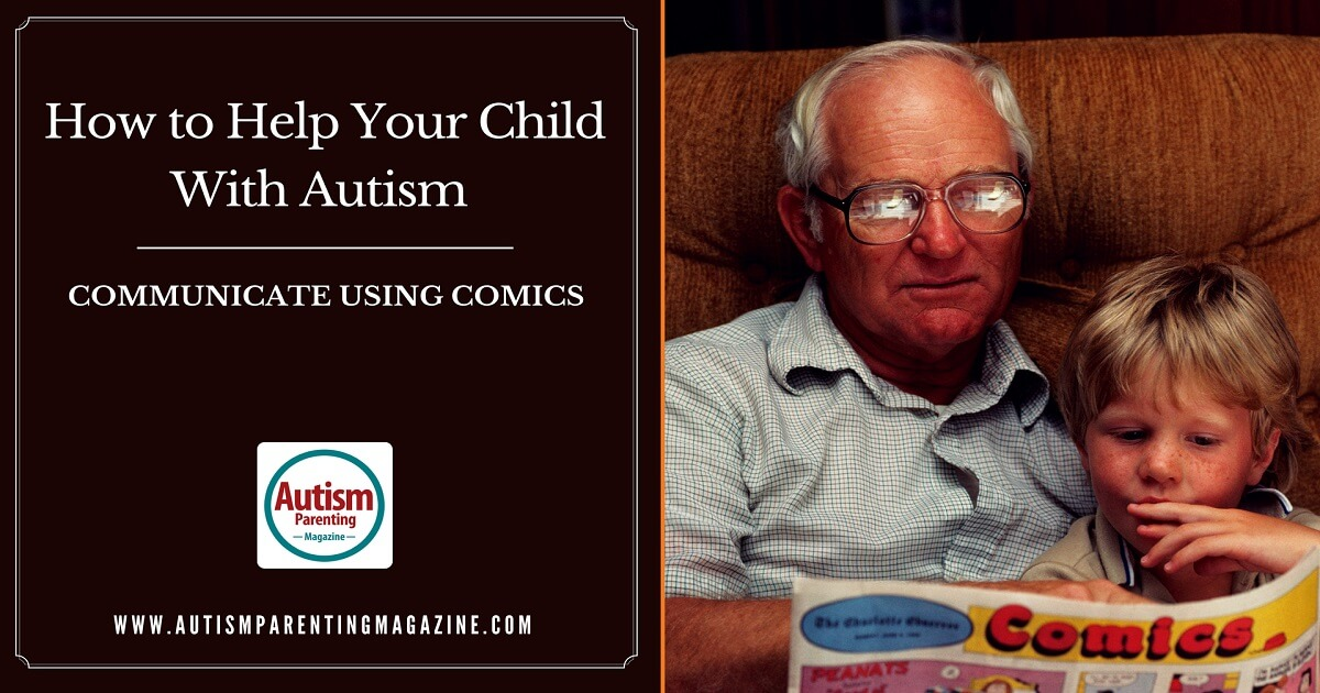 How to Help Your Child With Autism Communicate Using Comics http://www.autismparentingmagazine.com/help-child-with-autism-communicate-using-comics