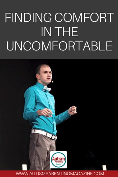 Finding Comfort in the Uncomfortable https://www.autismparentingmagazine.com/finding-comfort-in-the-uncomfortable/