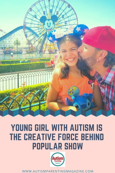 Young Girl with Autism is the Creative Force Behind Popular Show https://www.autismparentingmagazine.com/young-girl-behind-popular-show/
