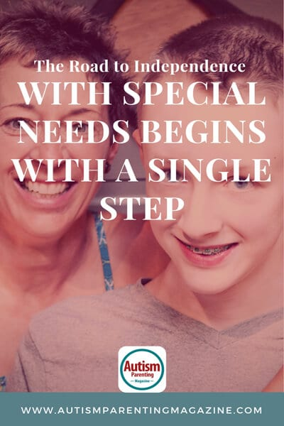 The Road to Independence with Special Needs Begins with a Single Step https://www.autismparentingmagazine.com/road-to-independence-with-special-needs/