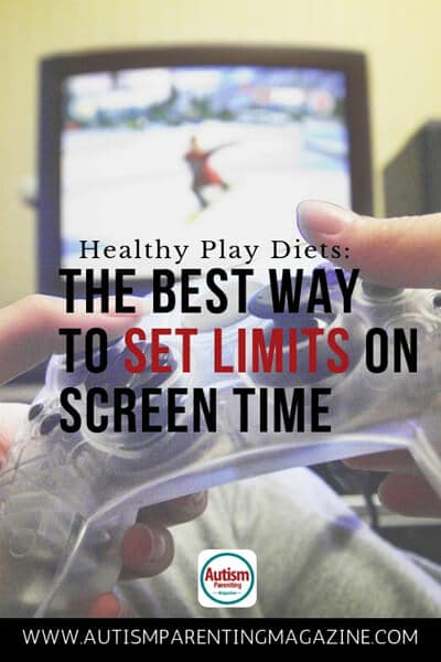 Healthy Play Diets: The Best Way to Set Limits on Screen Time https://www.autismparentingmagazine.com/ ways-to-limit-playing-time/