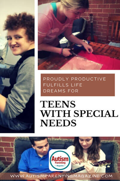Proudly Productive Fulfills Life Dreams for Teens with Special Needs https://www.autismparentingmagazine.com/fulfilling-life-dreams-with-autism/