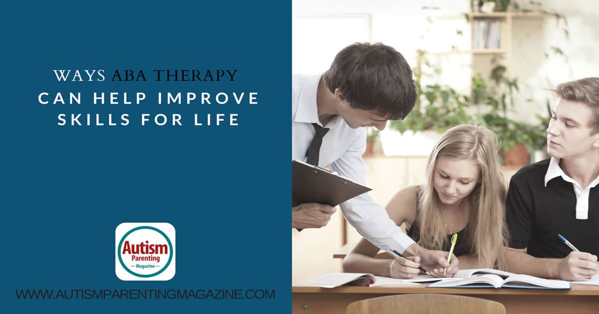 Ways ABA Therapy Can Help Improve Skills For Life https://www.autismparentingmagazine.com/ways-aba-therapy-improve-skills/
