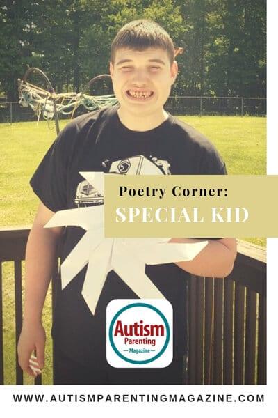 Poetry Corner: Special Kid https://www.autismparentingmagazine.com/poetry-corner-special-kid/