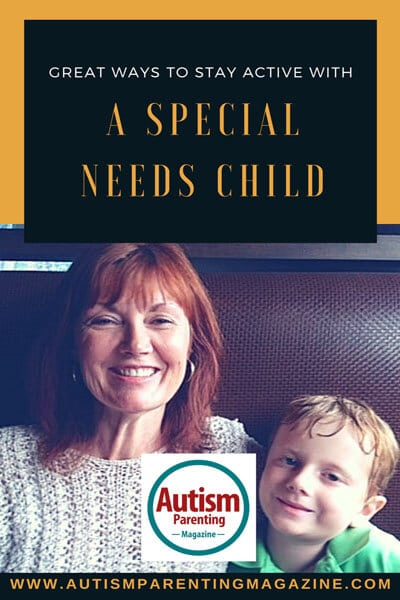 Great Ways to Stay Active With A Special Needs Child https://www.autismparentingmagazine.com/stay-active-with-special-child/