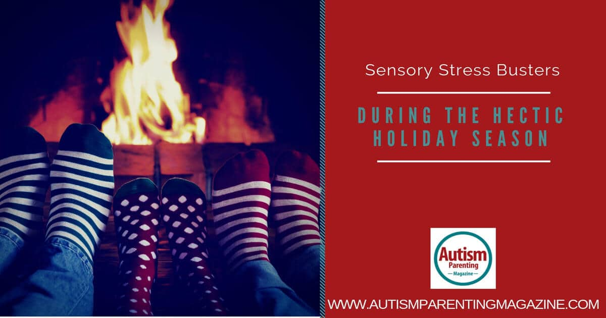 Sensory Stress Busters During the Hectic Holiday Season https://www.autismparentingmagazine.com/stress-busters-during-holiday-season/