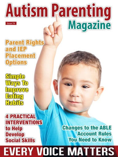 Autism Parenting Magazine Issue 74 - Every Voice Matters https://www.autismparentingmagazine.com/issue-74-every-voice-matters/