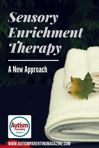 Sensory Enrichment Therapy: A New Approach https://www.autismparentingmagazine.com/sensory-enrichment-therapy-autism/